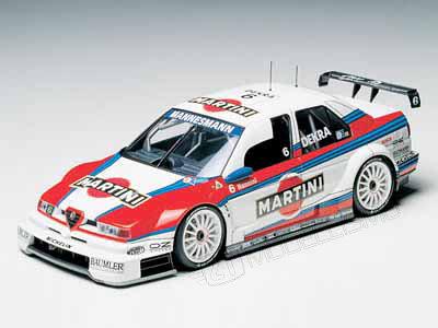 Tamiya 24176 - ALFA ROMEO 155 V6 Martini - 1:24