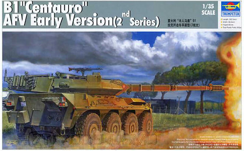 "Trumpeter 00386 - B1 ""Centauro"" AFV Early Version - 1:35"