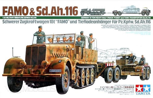 Tamiya 35246 - FAMO & Sd.Ah.116 Transporter - 1:35