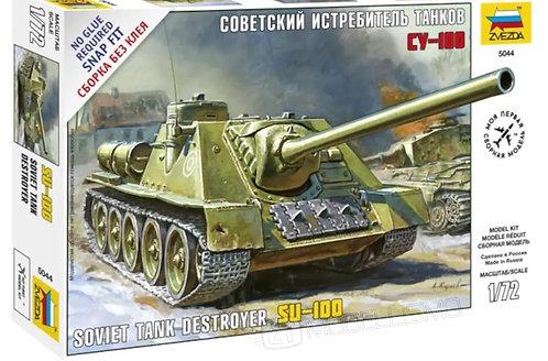 Zvezda 5044 - Soviet Tank Destroyer SU-100 - 1:72