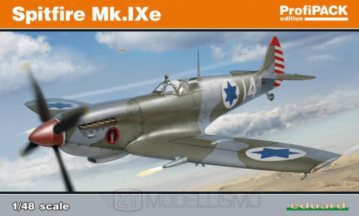 Eduard 8283 - Spitfire Mk.IXe - 1:48