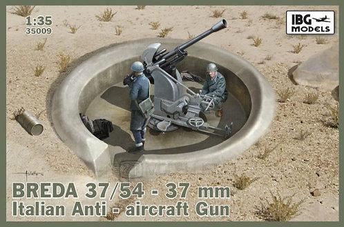 IBG Models 35009 - Breda 37/54 anti-aircraft gun - 1:35