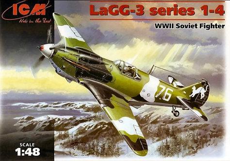 ICM 48091 - LaGG-3 series 1-4 - 1:48