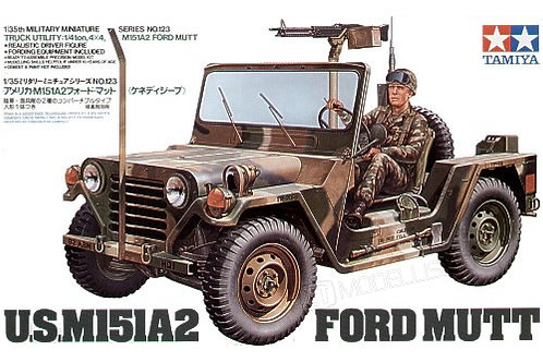 Tamiya 35123 - US JEEP M151A2 FORD MUTT - 1:35