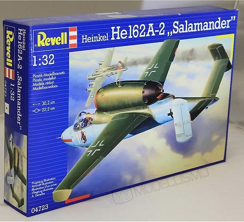 "Revell 04723- HE 162 A-2 ""SALAMANDER"" - 1:72"