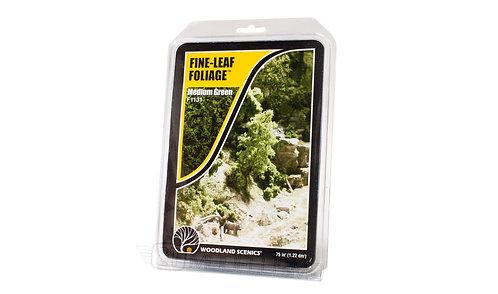 Woodland scenics F1131 - Fine-leaf foliage, medium green