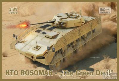 """IBG Models 35008 - KTO Rosomak """"The Green Devil""""  - 1:35"""