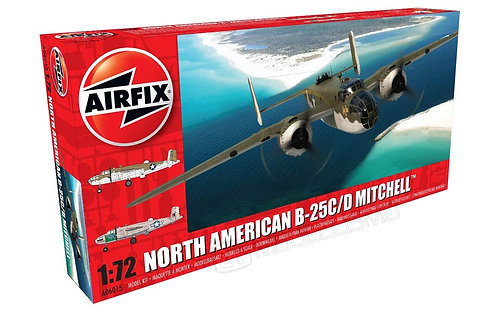Airfix A06015 - North American B-25C/D Mithchell - 1:72