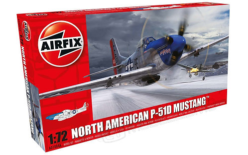 Airfix A01004A - North American P-51D Mustang - 1:72