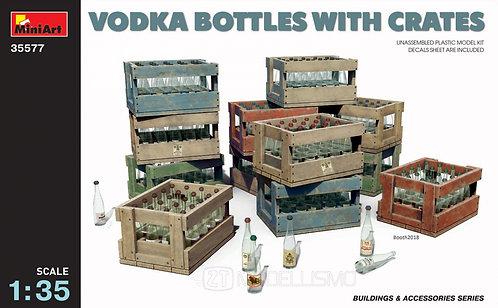 MiniArt 35577 - Vodka bottles with crates - 1:35