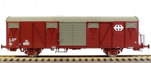 Exact - Train EX20433 - Carro merci chiuso tipo Gbs, SBB - H0