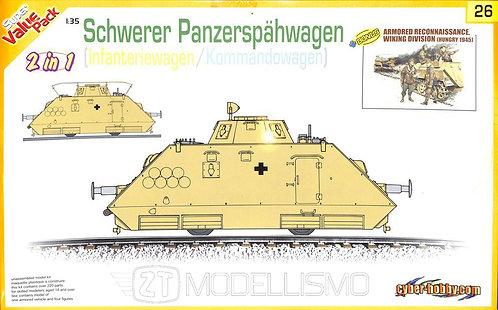 Cyber Hobby 9126 - Schwerer Panzerspähwagen - 1:35