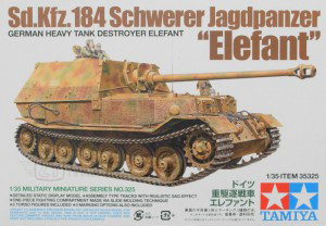 Tamiya 35325 - GERMAN HEAVY TANK ELEFANT - 1:35