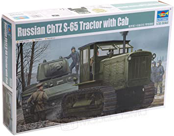 Trumpeter 05539 - Russian ChTZ S-65 Tractor with cab - 1:35