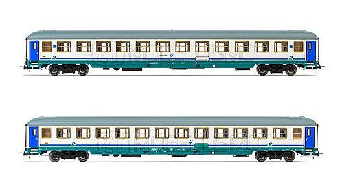 Rivarossi HR4268 - Set 2 carrozze di 2°cl UIC-X - H0