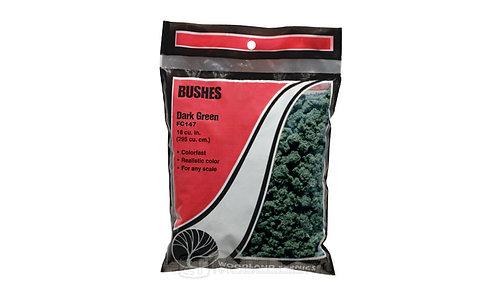 Woodland scenics FC147 - Bushes, dark green