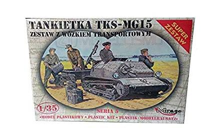 Mirage Hobby 35515 - Tankette TKS-MG15 - 1:35