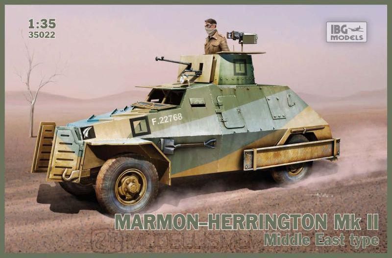IBG Models 35022 - Marmon-Herrington Mk.II, Middle East type - 1:35