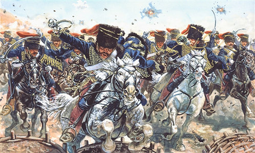 Italeri 6052 - British hussars, Guerra di Crimea, 1854 - 1:72