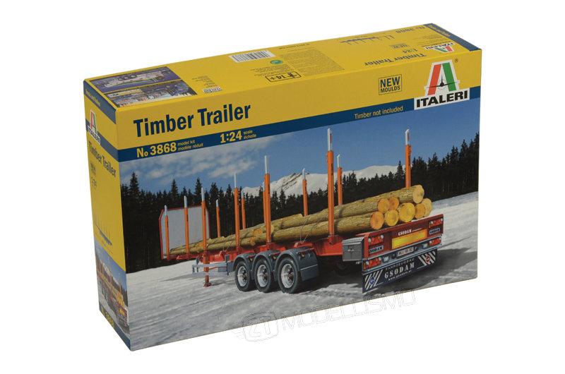 Italeri 3868 - Timber Trailer - 1:24