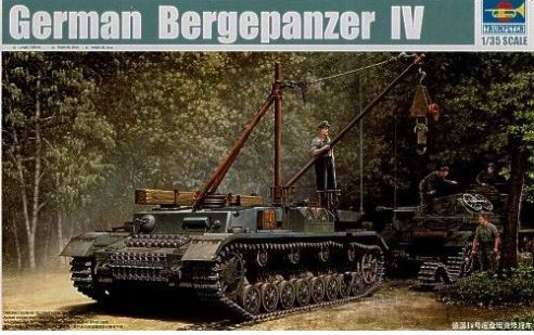Trumpeter 00389 - German Bergepanzer IV - 1:35