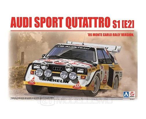 Aoshima Beemax 24017 - Audi sport quattro S1 - 1:24