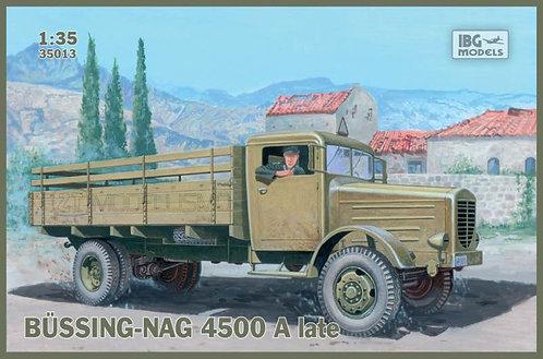 IBG Models 35013 - Bussing-NAG 4500 A late - 1:35