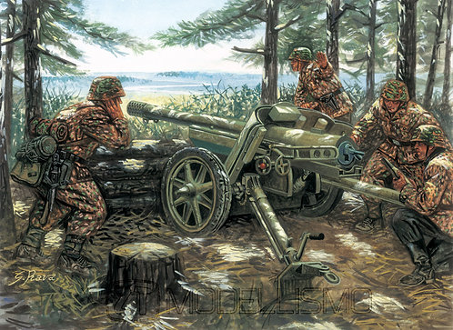 Italeri 6460 - PAK 97/38 AT Gun with servants - 1:35