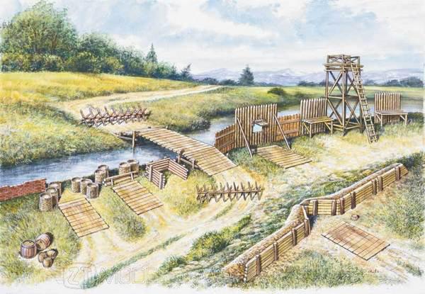 Italeri 6030 - Campo di battaglia, Guerre napoleoniche - 1:72