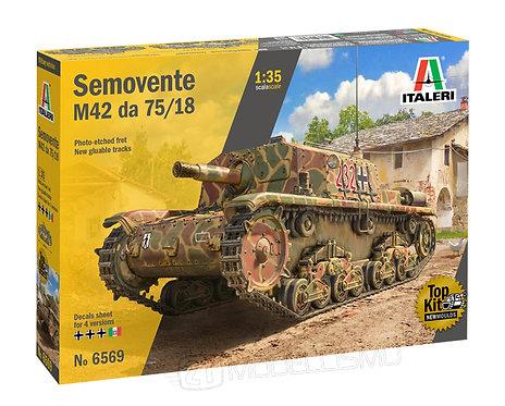 Italeri 6569 - Semovente M42 da 75/18 - 1:35