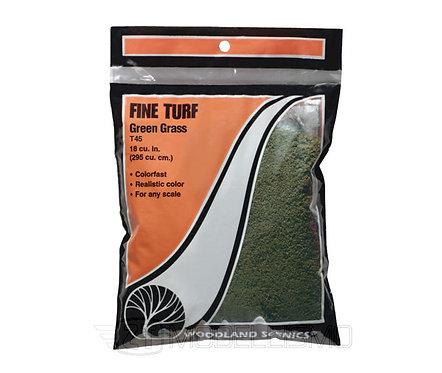 Woodland scenics T45 - Fine Turf, Green grass