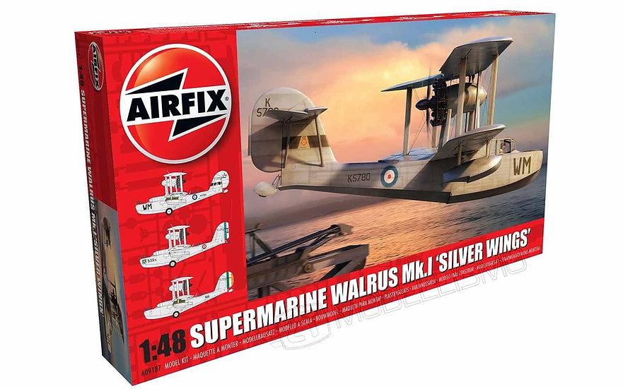 "Airfix A09187 - Supermarine Walrus Mk.I ""Silver Wings"" - 1:48"