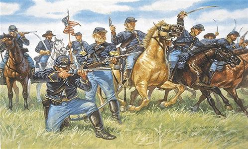 Italeri 6013 - Union Cavalry, Guerra civile americana - 1:72