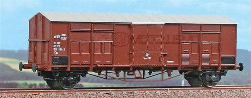 ACME 40246 - Carro chiuso tipo Ghs a passo lungo con 20 sportelli bassi, FS - H0