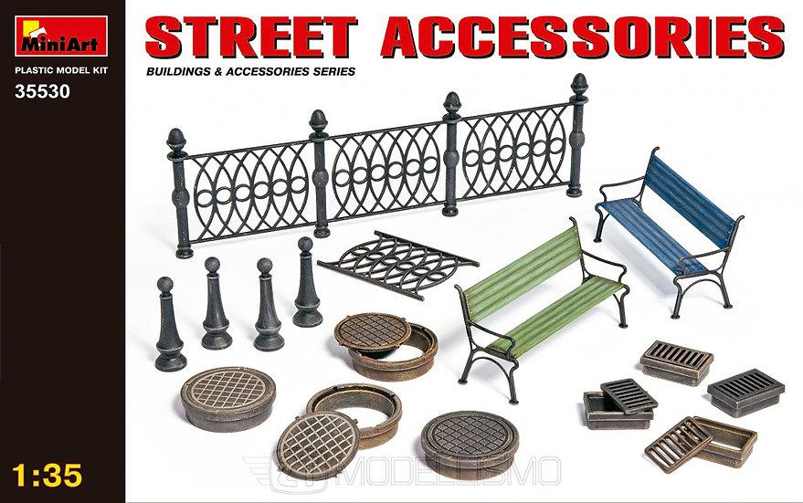 MiniArt 35530 - Street accessories - 1:35