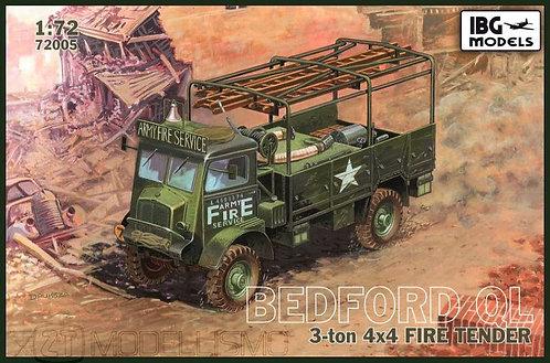 IBG Models 72005 - Bedford QL 3-ton 4x4 Fire Tender - 1:72