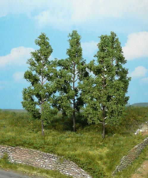 Heki 1737 - Set di 4 alberi di pioppo