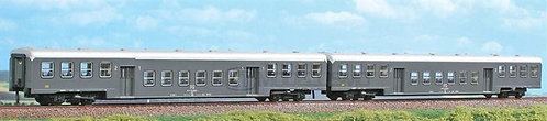 ACME 55167 - Set di due carrozze 1°/2° cl e 2° cl - H0