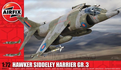 Airfix A04055 - Hawker Siddeley Harrier Gr.3 - 1:72