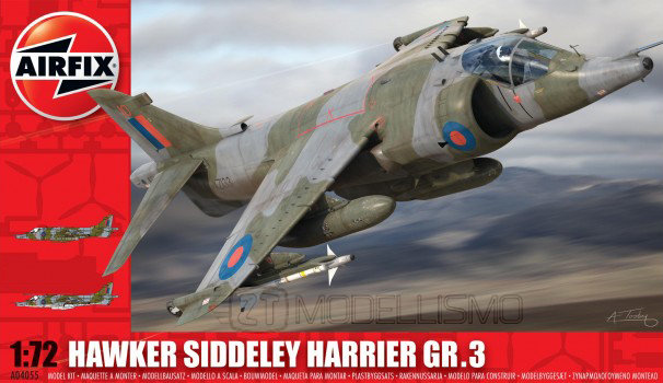 Airfix A04055 - Hawker Siddeley Harrier Gr.3 - 1:72