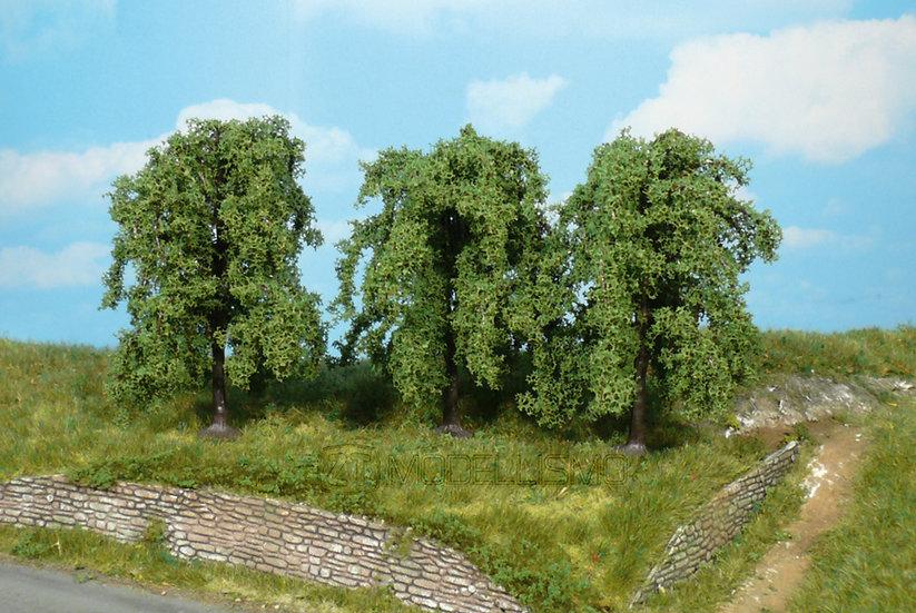 Heki 1734 - Set di 3 salici piangenti