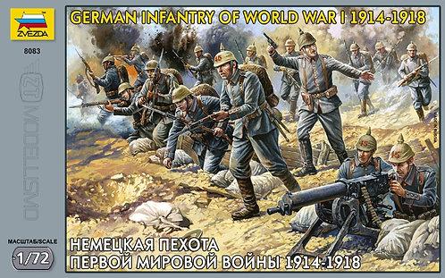 Zvezda 8083 - german infantry of World War I - 1:72