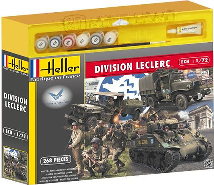 Heller - Set Division Leclerc - 1:72