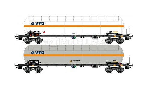 "L.S. Models 30758 - Set 2 carri cisterna Zags ""VTG"""