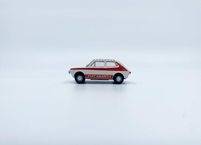 "Brekina 22510 - Fiat 127, ""Abarth"" rossa - H0"