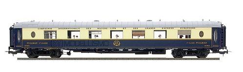 """LS Models 49171 - Set 2 carrozze CIWL tipo WP+WPc """"Cote D'Azur"""" - H0"""