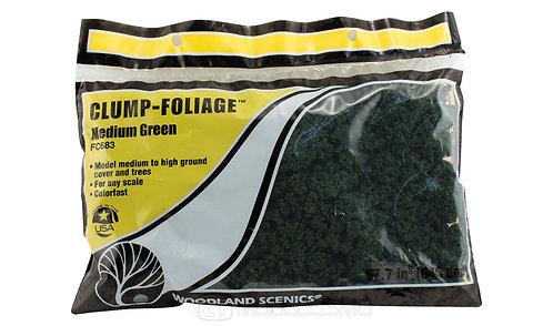 Woodland scenics FC683 - Clump-Foliage, medium green