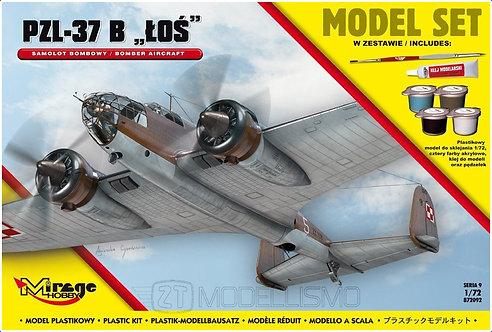 Mirage Hobby 872092 - PZL-37 B  'ŁOŚ' - 1:72