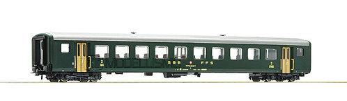 Roco 74563 - Carrozza passeggeri 2°cl, EW II, SBB FFS - H0