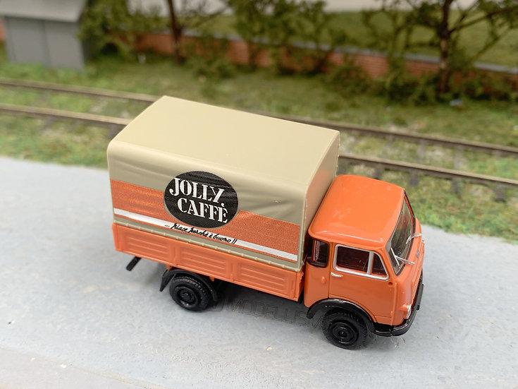 "Brekina 34615 - Autocarro OM 'Lupetto' ""Jolly Caffe"" - H0"
